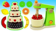 奇异的处理机变身水果寿辰蛋糕?魔力72变!DIY创意视频教程送给你
