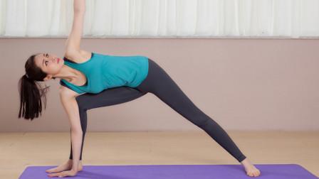 每日瑜伽 减少腰部赘肉的瘦身瑜伽教学,赶紧操练起来