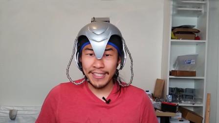 老外发明黑科技头盔,能控制人的行为,戴上后身体不受控制?