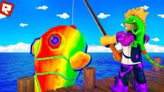 小飞象注释 Roblox钓鱼模仿器 捕鱼达人我果然用平底锅捞鱼?