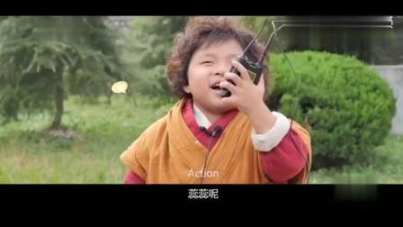 """东北萌娃""""李欣蕊""""遇到山东萌娃""""张俊豪"""",简直萌出血了!"""