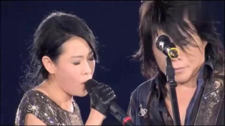 刘若英和伍佰合唱《浪人情歌》,两人斗智斗歌,伍佰技高一筹