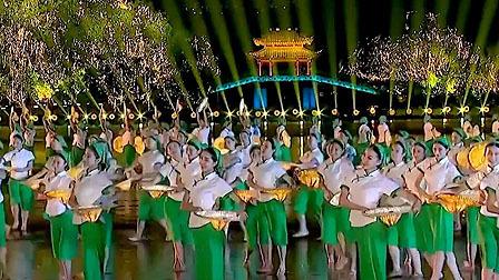 水上情景表演《最忆是杭州》美如画,畅游在西子湖畔悠闲惬意