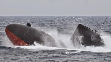 为什么敬佩中国潜艇兵?解放军3千吨潜艇开裂,艇长90秒挽救战友