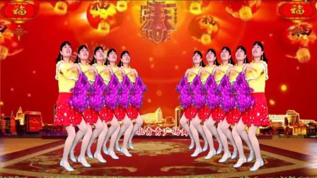 点击观看《河北青青广场舞《恭喜恭喜》32步花球舞附广场舞教学分解视频》