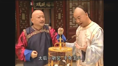 纪晓岚教一只鸟说话,和珅夺走后准备献给太后,没想到鸟还会骂人,吓坏和珅