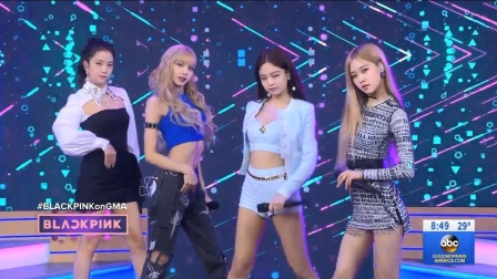 【猴姆独家】韩国女团BLACKPINK美国再演强势新单Ddu-du Ddu-du