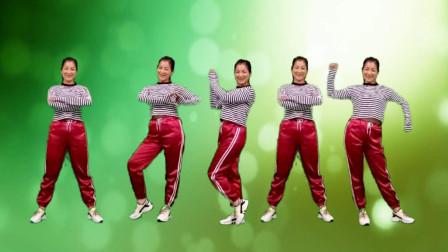 点击观看《红豆广场舞《夜之光》美丽时尚又大方的摆胯步子舞》