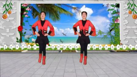蓝天云广场舞《一首醉人的歌》广场水兵舞视频演示