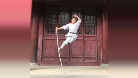 少林寺还有猴棍,神似齐天大圣,教程:六小龄童的okr网友图片
