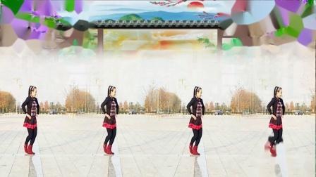 好心情蓝蓝广场舞《俏妹妹》原创健身舞