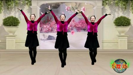 蓝天云广场舞《壮丽山河美》活力健身舞