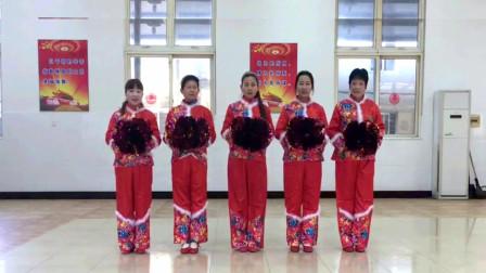 誓言广场舞《拜新年》原创拜年舞视频