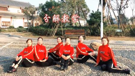 尚舞云儿广场舞《拜新年》喜庆拜年舞动作分解教学视频