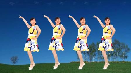 点击观看《玫香广场舞《今生只爱你一个》一看就会16步广场舞视频》