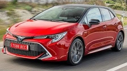 2020款全新丰田卡罗拉两厢掀背版混动-内外饰及官方驾驶视频