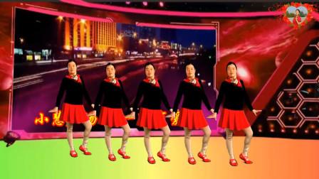 点击观看《小慧广场舞《一路有爱DJ》正反演示附教学》