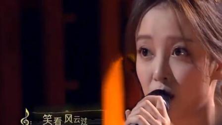 汪小敏演唱九十年代经典粤语歌,原唱郑少秋在台下忍不住鼓掌
