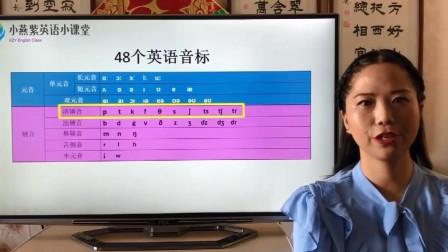 零基础学英语 轻松学会48个英语音标中的28个辅音音标