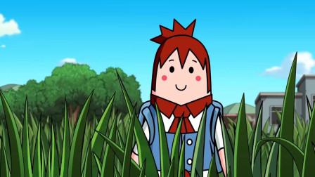 搞笑吃鸡动画:萌妹当伏地魔尝到了甜头,第二局4人小队集体开启伏地魔模式