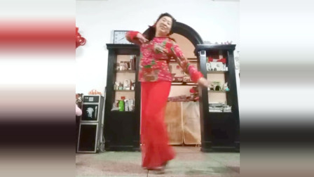 宜阳明萱广场舞《妹妹坐船头》中年妇女健身舞视频