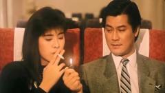 美女抽烟没火机,找当中的夫君借火,效率惨被夫君作弄