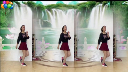 蓝莓思洁广场舞《燃烧我的爱》16步入门鬼步舞视频