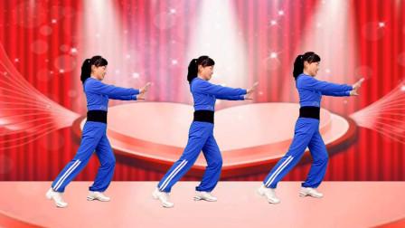 玫香广场舞《朋友醉一场》DJ健身操,歌曲好听,张冬玲演唱