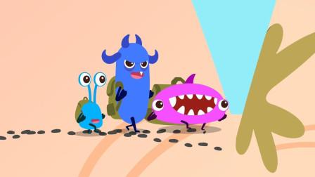 宝宝巴士细菌来了 第4集 细菌爬手指山