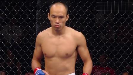 """中国张铁泉征战UFC,一回合KO美国本土选手,""""绝招""""显威!"""