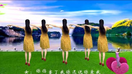 点击观看《钦钦广场舞《爱你错错错》入门32步广场舞》