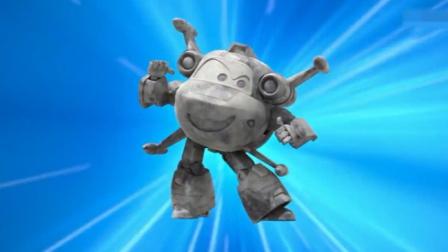 米克用原子能量让普通石头大变身,变了个小米克,真是不可思议!