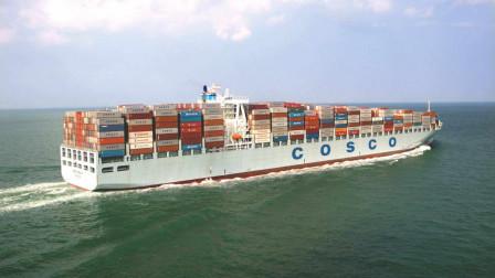 """中国造海洋里的""""钢铁巨兽"""",排水量超过十几万吨,英国人看了羡慕不已"""