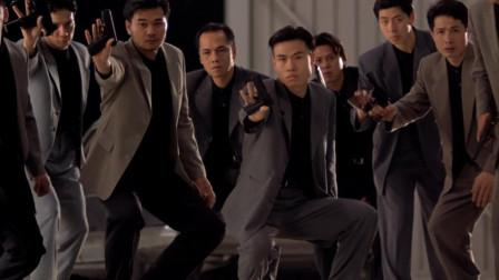 香港黑帮电影:黑帮老大人强马壮,古惑仔山鸡等人来搞事!