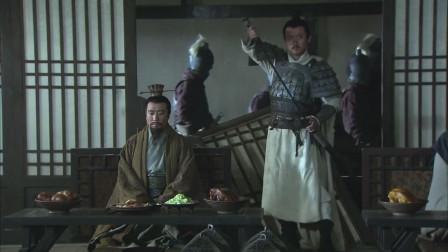 《三国》吕蒙要一刀砍向刘备,赵云拔剑姿势帅气