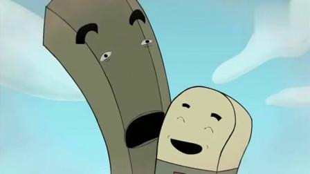 黑色幽默动画,人生如同铅笔 没有橡皮擦会让你