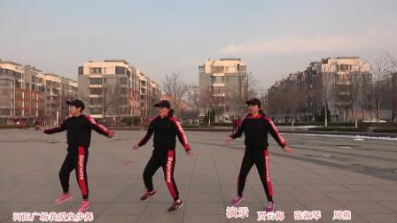 鬼步舞河阳广场
