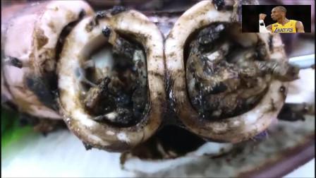 韩国鱿鱼黑暗料理吃法,吃货们看完别退缩哈!