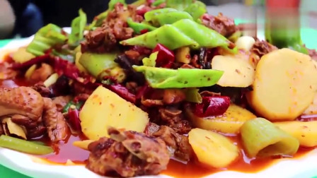 老外在中国:当老外遇到大盘鸡,中华美食征服外国人, 怎么都吃不够