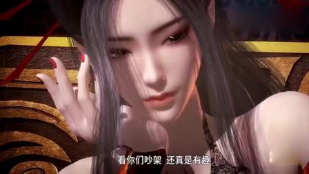 秦时明月:焰灵姬就是可爱,在一旁看雪女与赤练斗嘴,也不忘劝架