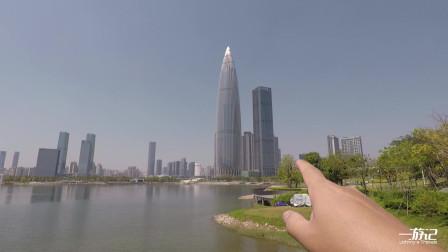 来到深圳,就要逛逛美丽的深圳湾,对面就是香港