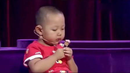 """孟非遇到难题了,3岁小萌娃""""面瘫""""不讲话,谁料竟是广场舞高手"""
