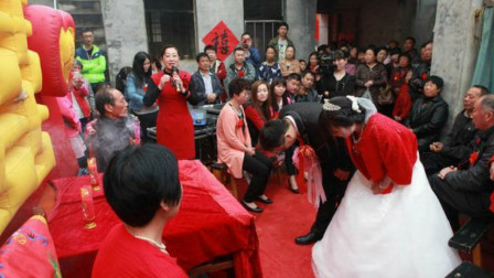 结婚合好,下轿固定方位,河南农村当地婚礼习俗看看你知多少