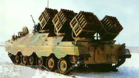 中国这个战车一开火,15分钟布设1200枚地雷,成坦克拦路虎