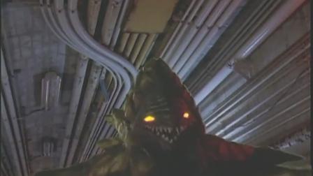 迪迦奥特曼:刚部击中岸勇,身上出现闪电,变成怪兽消失了!