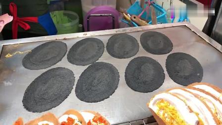 街头美食之泰国曼谷小吃摊, 这样的美食我能吃10个