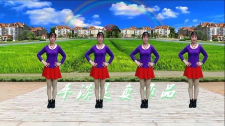32步广场舞《你是我红尘中最美的缘》初级入门 简单易学