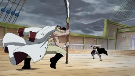 最强枭雄黑胡子正面击伤四皇!香克斯与白胡子打到天崩地裂!艾斯