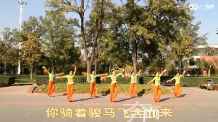 廊坊星月广场舞 唱天籁 表演 团队版