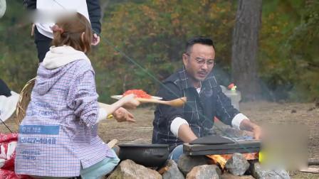 户外美食记,欧弟的灶台完美生火,汪涵讲述起儿时趣事